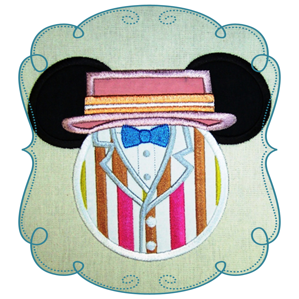 7bdf85c377e2d Mary Poppins Applique Machine Embroidery Design