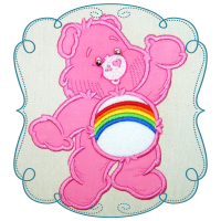 Colorful Cuddle Bear