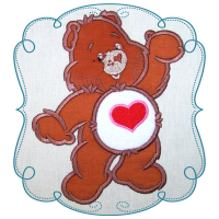 Hearts Cuddle Bear