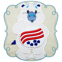 Patriotic Cuddle bear