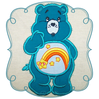 Rainbow Cuddle Bear